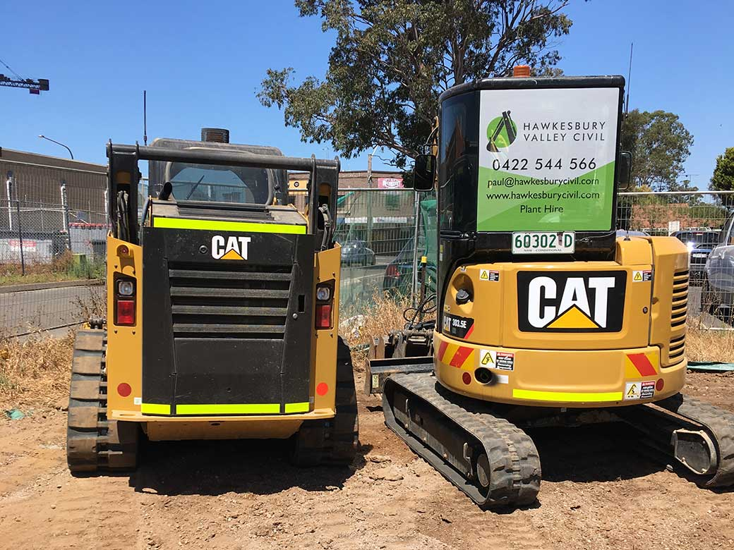 Earth Moving Equipment Hawkesbury